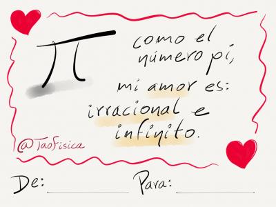 tarjeta de amor para dedicar