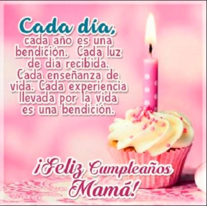 feliz cumpleaños tarjetas para mi mama