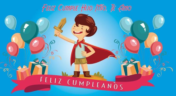 imágenes de feliz cumpleaños para hijos