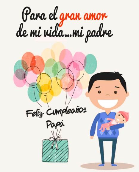 imágenes de feliz cumpleaños querido papa