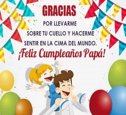 imágenes feliz cumpleaños mi papa