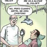 imagen graciosa de dentistas