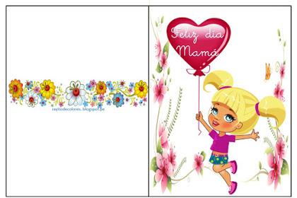 tarjeta para mama bonita