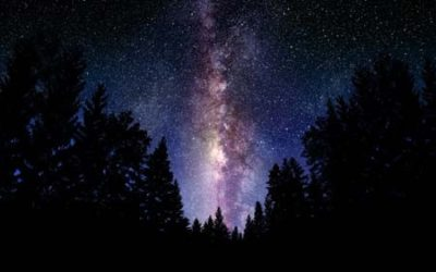 hermoso cielo nocturno