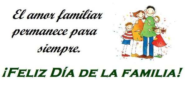 celebrar el dia de la familia unidos