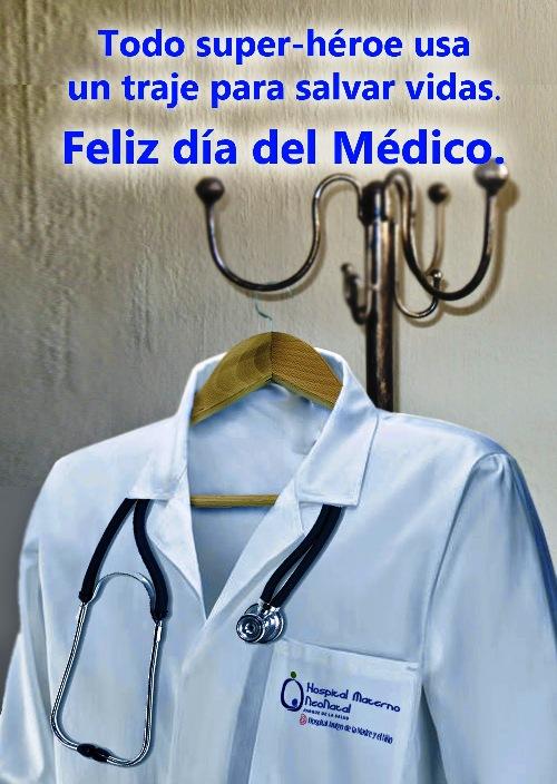 el medico en su dia con frases