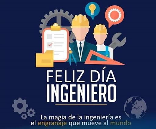 conmemorar a todos los ingenieros en su gran dia