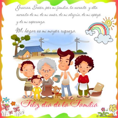 feliz dia internacional de la familia en paz y union