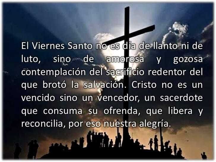 significado del viernes santo